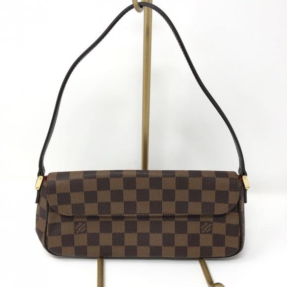 Louis Vuitton Handbags - Louis Vuitton Damier Ebene Recoleta Bag Leather